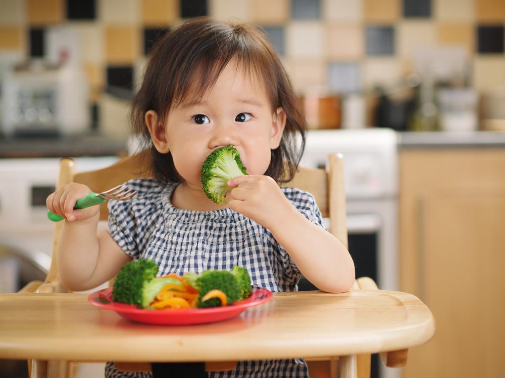 Tips Agar si Kecil Suka Sayur