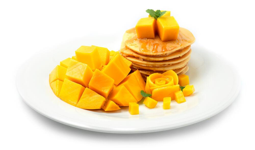 Resep Pancake Mangga Zukini Bebas Gluten