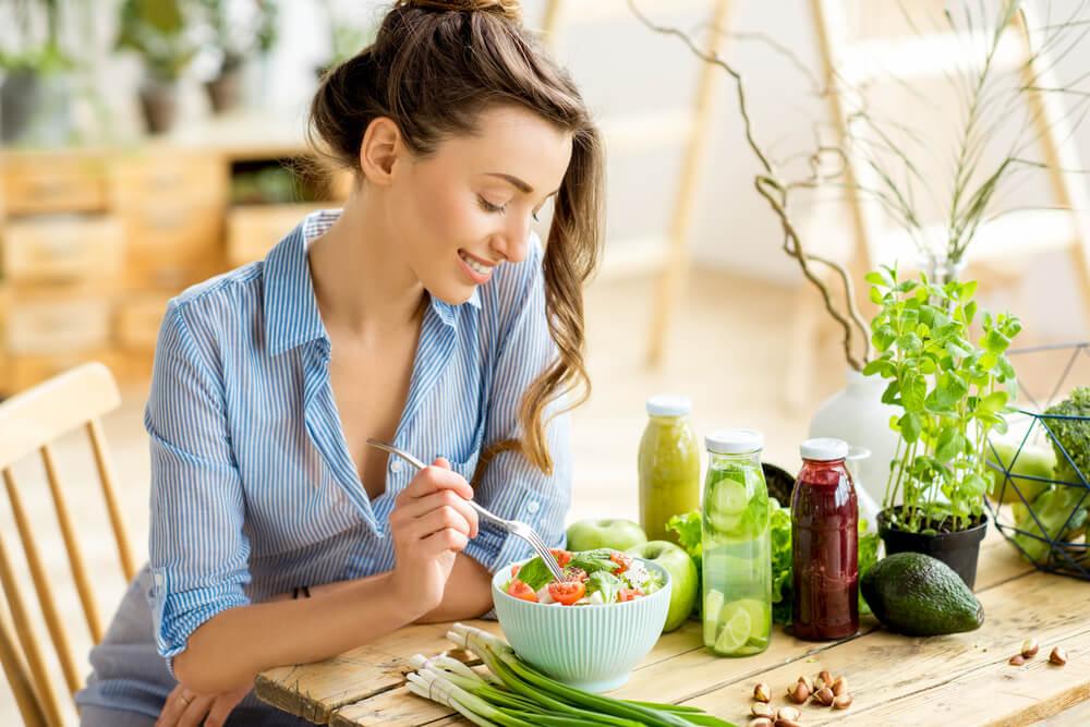 Pola Makan Vegetarian, Benarkah Lebih Sehat?