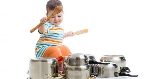 DIY Mainan Berbahan Peralatan Rumah Tangga